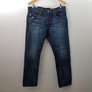 Polo Jeans Dungarees Blue Hampton Straight
